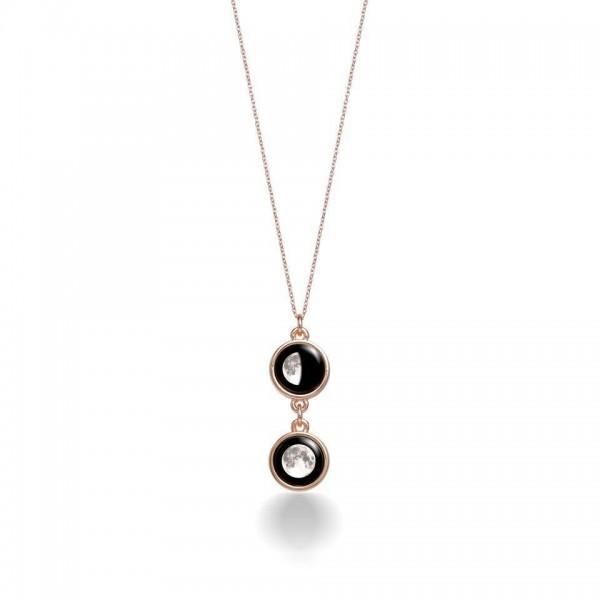 Mini Ituri Necklace in Rose Gold
