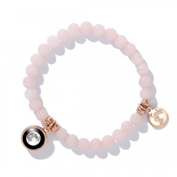 Rose gold beaded bracelet (여성용)