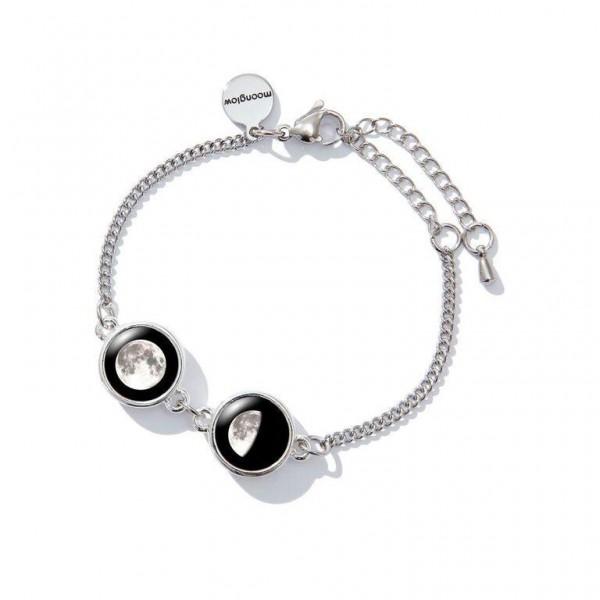Double Moon Pallene Bracelet